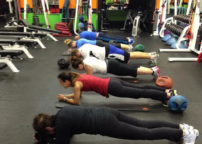 Planks feel so good at TBWTC